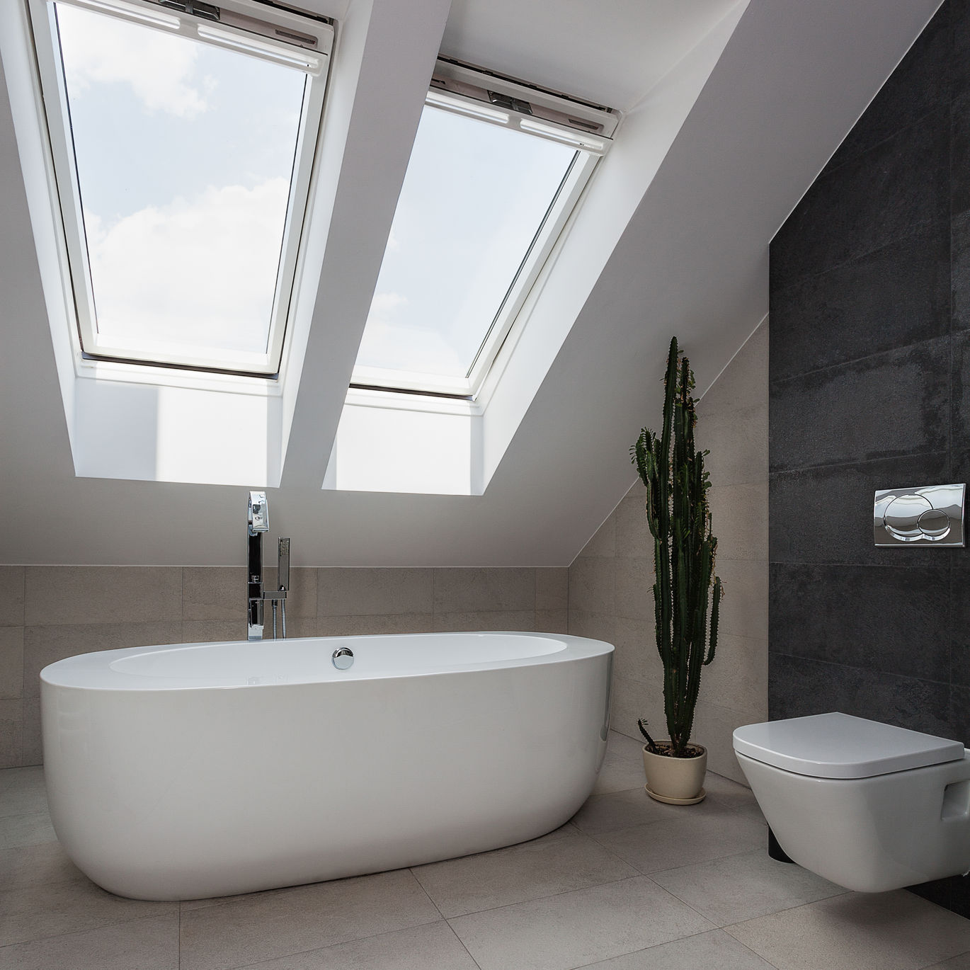 Loft conversion attic conversion swansea bridgend for Loft bathroom ideas design