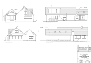 Proposed Elevations Large Extension